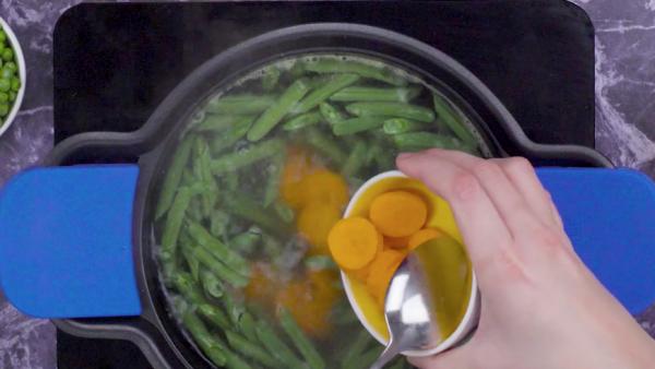 Segundo paso verduras hervidas