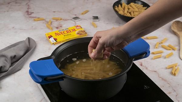 Primer paso ensalada de pasta fría