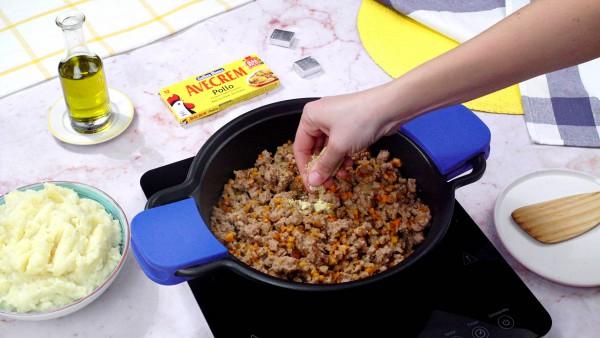 Segundo paso pastel de patata y carne picada