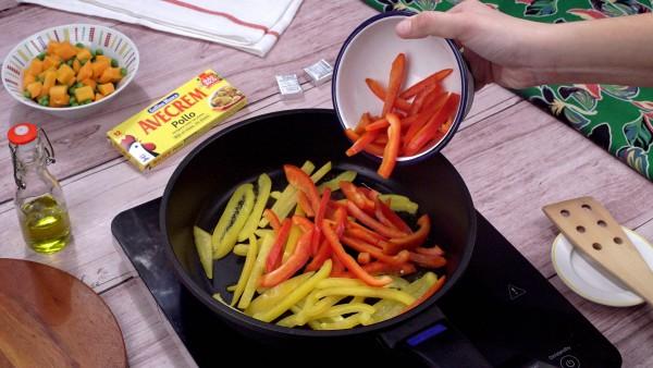 Segundo paso filete de ternera a la plancha con verduras