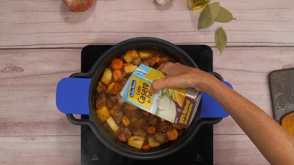 Estofado de carne con patatas paso 3