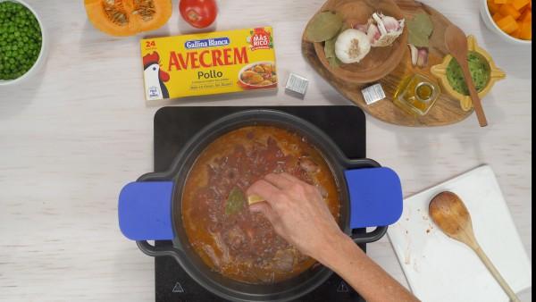 Estofado de carne con verduras Paso 3
