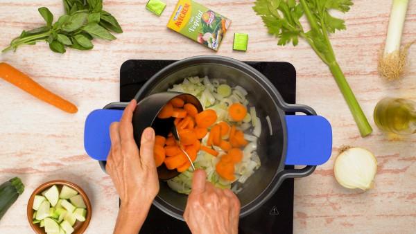 Paso 1 crema de verduras casera