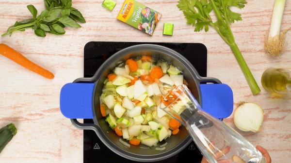 Paso 2 crema de verduras casera