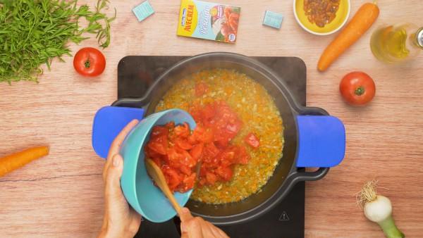 Segundo paso langosta en salsa
