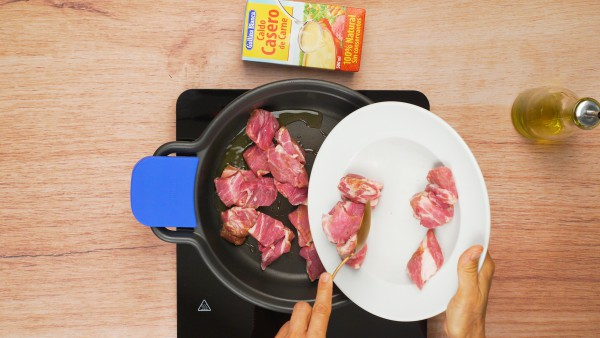 Primer paso secreto ibérico en salsa