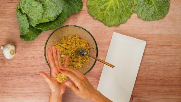 Tercer paso sopa de cocido lebaniego