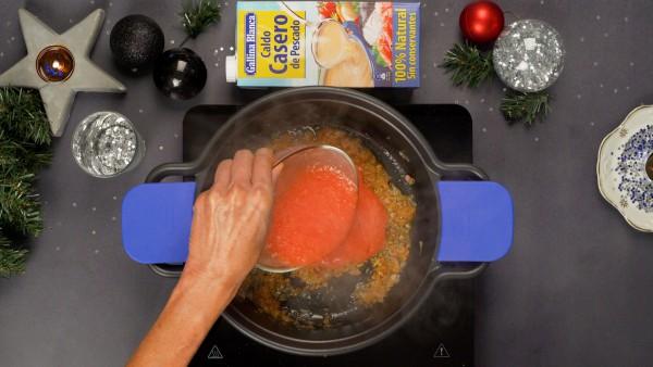 Paso 1 Besugo en salsa