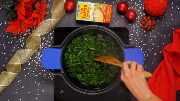 Paso 1 carne rellena para navidad