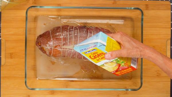 Paso 3 carne rellena para navidad