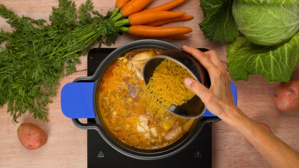 Paso 3 cocido madrileño receta tradicional