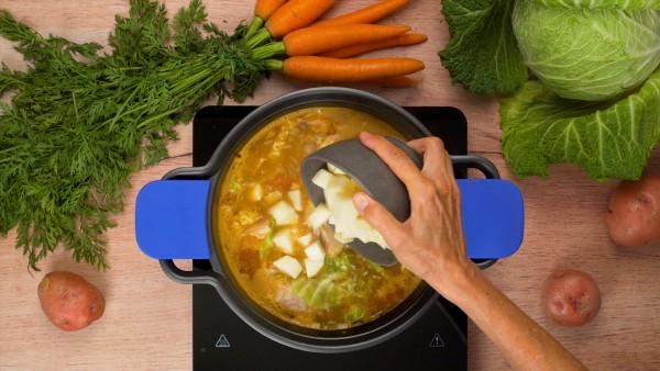 Paso 2 cocido madrileño receta tradicional