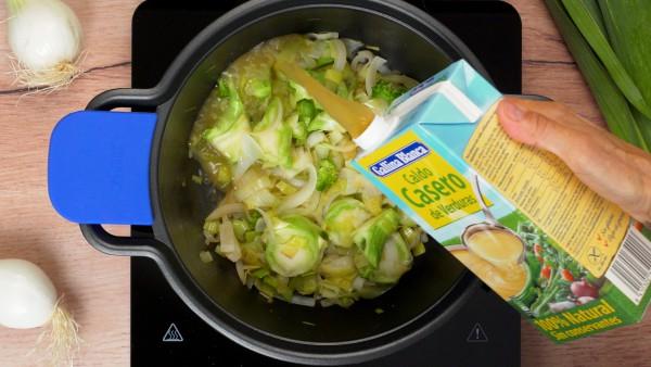 Paso 2 sopa de brócoli