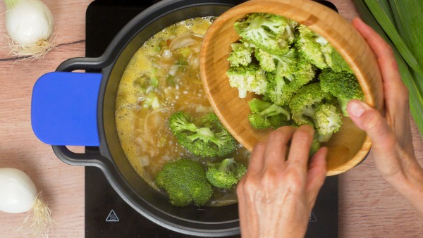 Paso 3 Sopa de brócoli