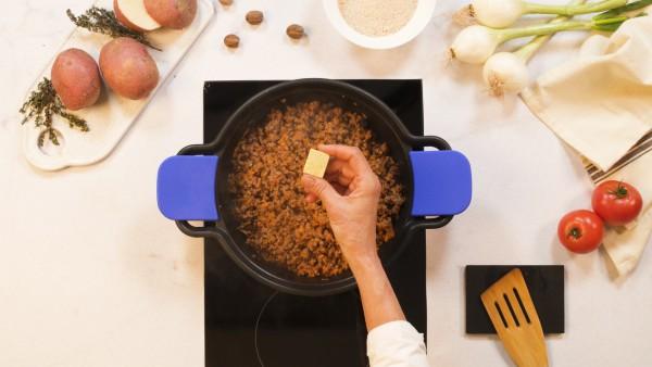 Paso 2 pastel de carne con patatas