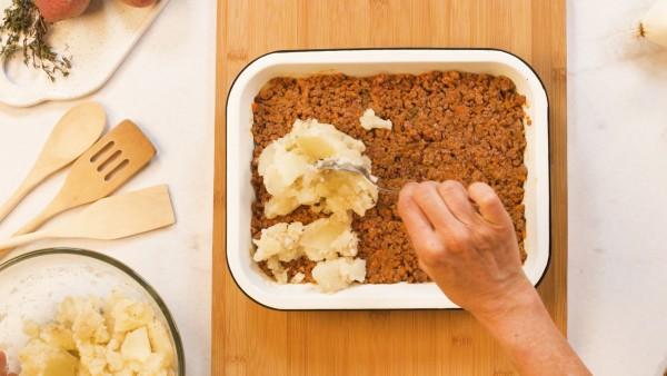 Paso 3 pastel de carne con patatas