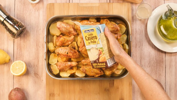 Paso 3 alitas de pollo al horno