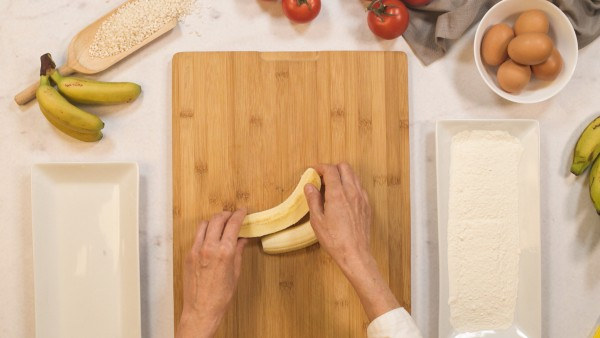 Paso 1 arroz a la cubana con plátano