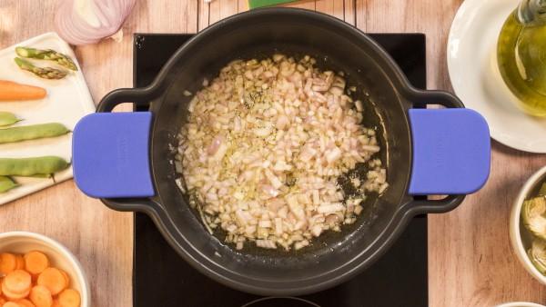 Paso 1 menestra de ternera con verduras