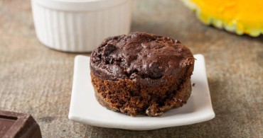 Muffin de chocolate y calabaza