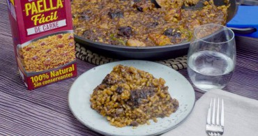 Arroz costilla y butifarra