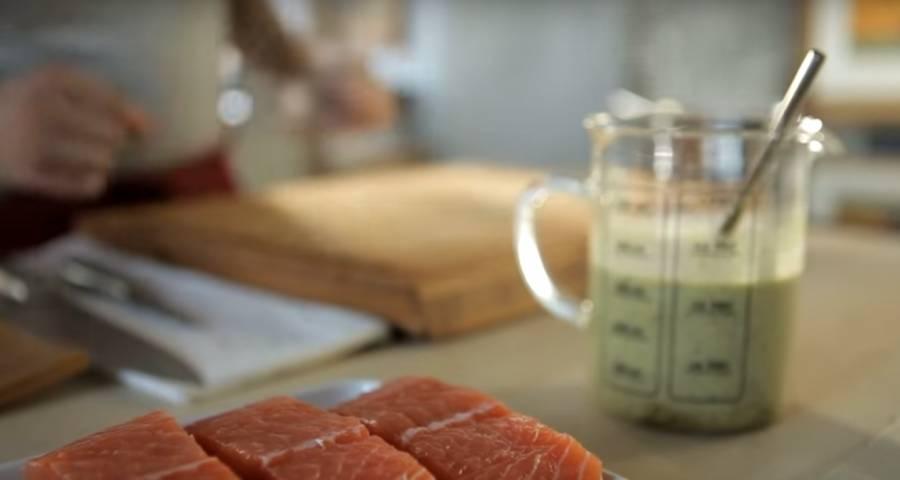 aromatizar el salmón