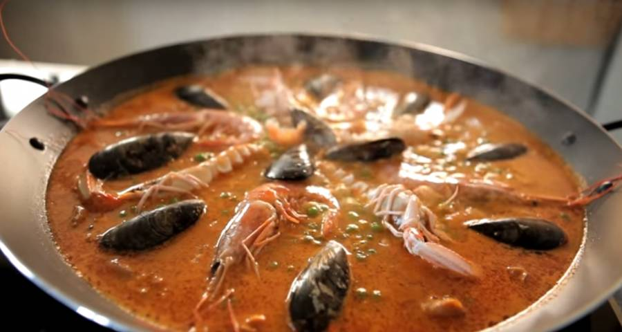 Paella perfecta