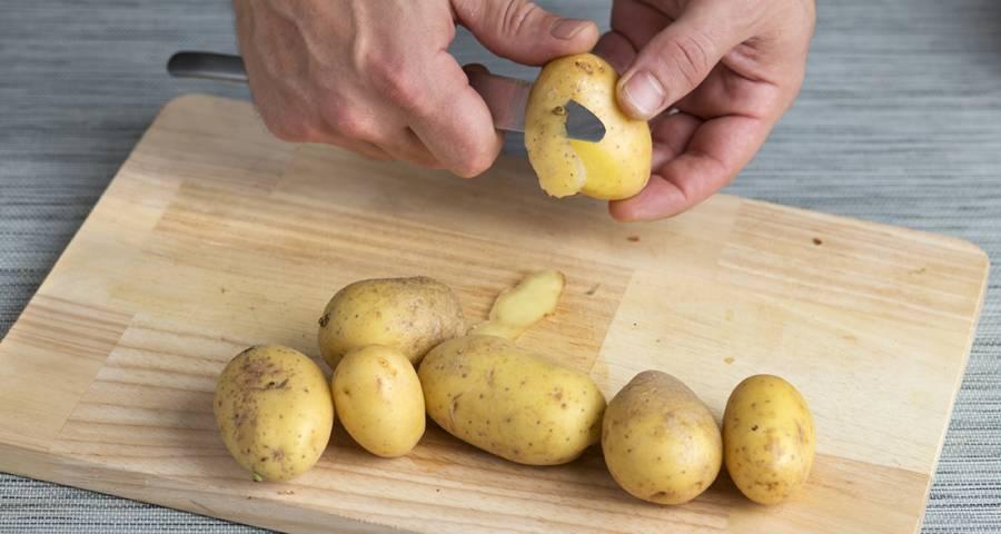 Patatas enteras
