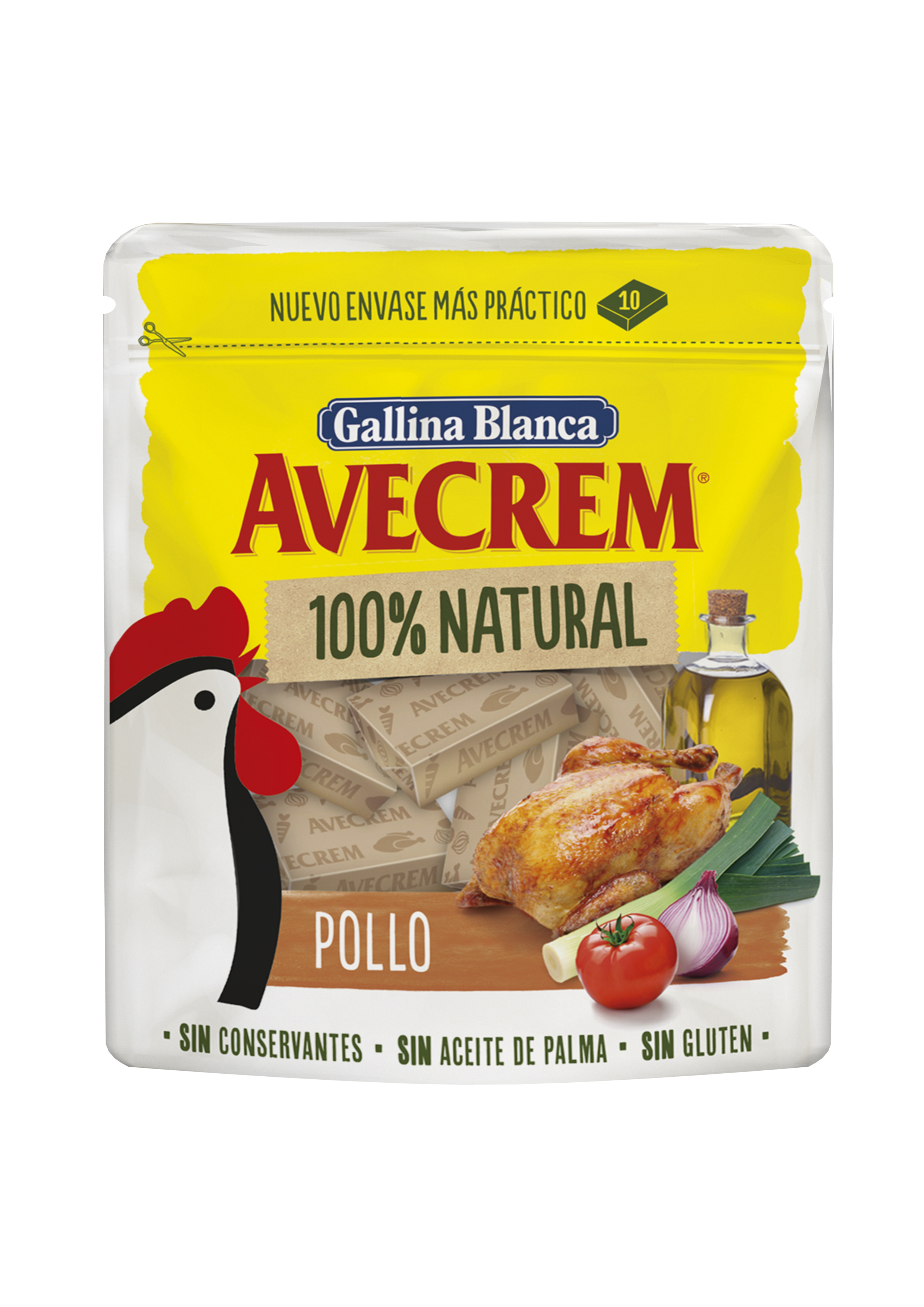 Avecrem 100% Natural Pollo